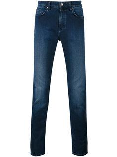 прямые джинсы Boss Hugo Boss
