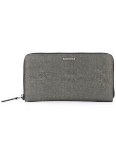 herringbone zip wallet  Ermenegildo Zegna