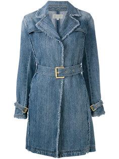 джинсовое приталенное пальто  Michael Michael Kors