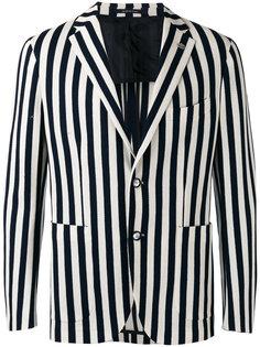 полосатый пиджак Tagliatore