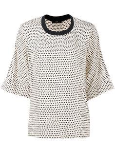 star print blouse Steffen Schraut