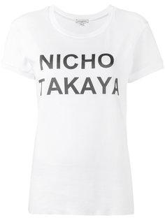 футболка Nicho Takaya Natasha Zinko