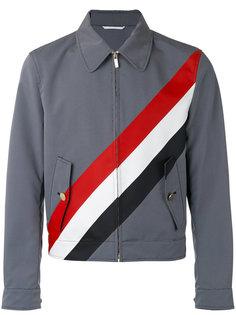 клетчатая куртка с полосками Thom Browne