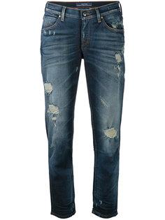 укороченные рваные джинсы Jacob Cohen