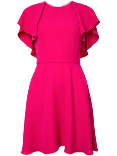 flared dress Monique Lhuillier