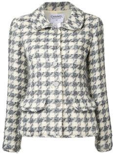пиджак с длинным рукавом и логотипом CC  Chanel Vintage