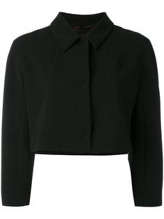 укороченный пиджак мешковатого кроя Max Mara Studio