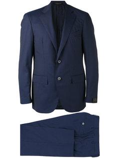 striped two-piece suit Corneliani
