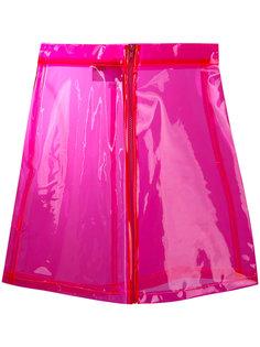 прозрачная юбка с отливом Brashy