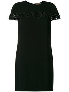 платье-шифт с оборками Burberry