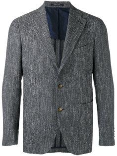 фактурный пиджак на двух пуговицах Tagliatore