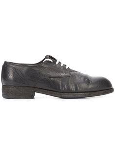 кроссовки с контрастной шнуровкой Guidi