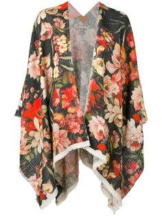 свободная куртка с принтом роз Ermanno Gallamini