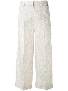 укороченные брюки Twin-Set