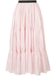 длинная многослойная юбка Tome