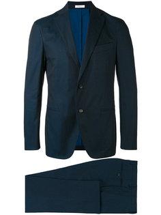 stitched detail suit Boglioli