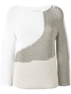свитер ажурной вязки Fabiana Filippi
