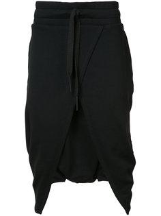 шорты с запахом с заниженным шаговым швом Barbara I Gongini