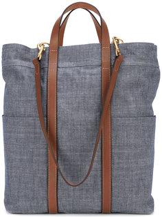 джинсовая сумка-тоут Mismo