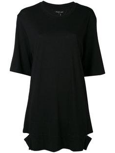 футболка с шлицами  Helmut Lang