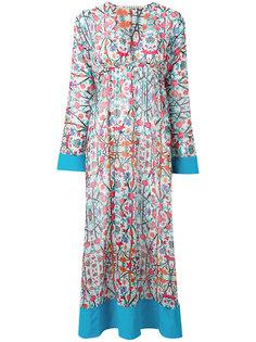 платье длины миди с цветочным узором Miahatami