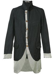 куртка с необработанными краями  Comme Des Garçons Homme Plus