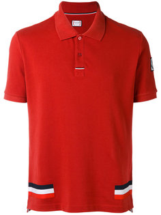 футболка-поло с тремя полосками  Moncler Gamme Bleu