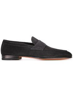 apron toe loafers Santoni