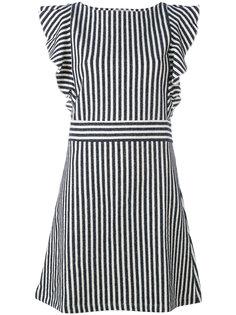 полосатое платье Maison Kitsuné