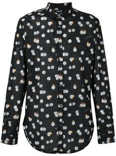 рубашка с принтом игральных костей  Just Cavalli