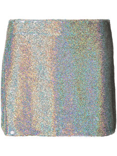 sequin mini skirt Ashish