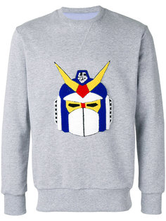 robot patch sweatshirt  Lc23