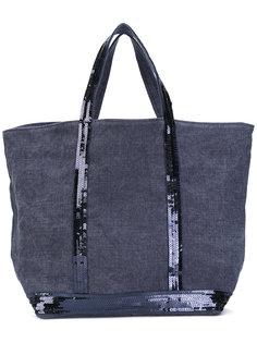 парусиновая сумка-тоут с пайетками Vanessa Bruno