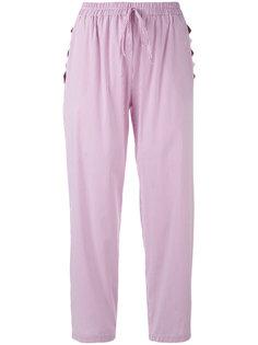 брюки в тонкую полоску Blugirl