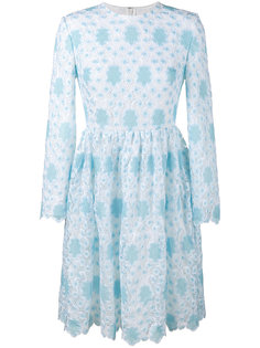 вязаное крючком кружевное платье Huishan Zhang
