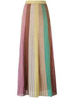 длинная юбка с отделкой металлизированной нитью M Missoni