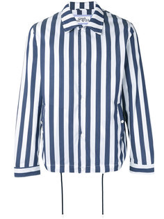 striped shirt jacket  Lc23