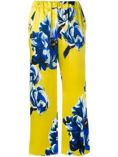 floral trousers Ermanno Gallamini