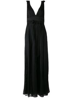вечернее платье с завышенной талией Marco Bologna