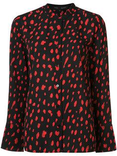 блузка с леопардовым принтом Proenza Schouler