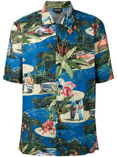 рубашка в гавайском стиле Just Cavalli