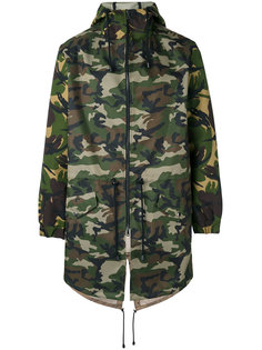 camouflage hooded coat  Lc23