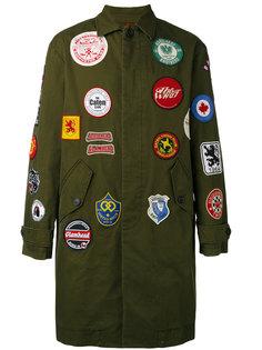 куртка с заплатками Dsquared2