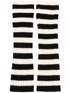 striped wrist warmers Chinti And Parker