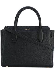 сумка с фирменной бляшкой Bulgari