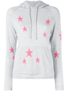 star printed hooded sweater Chinti And Parker