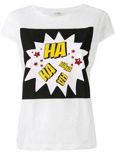 футболка с принтом Haha Iceberg