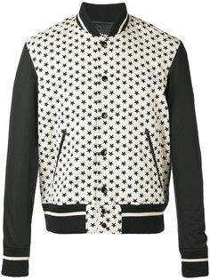 куртка с принтом в звезды Just Cavalli