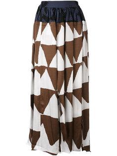 юбка с геометрическим принтом Vivienne Westwood Anglomania