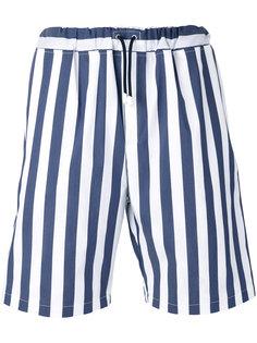 drawstring striped shorts  Lc23